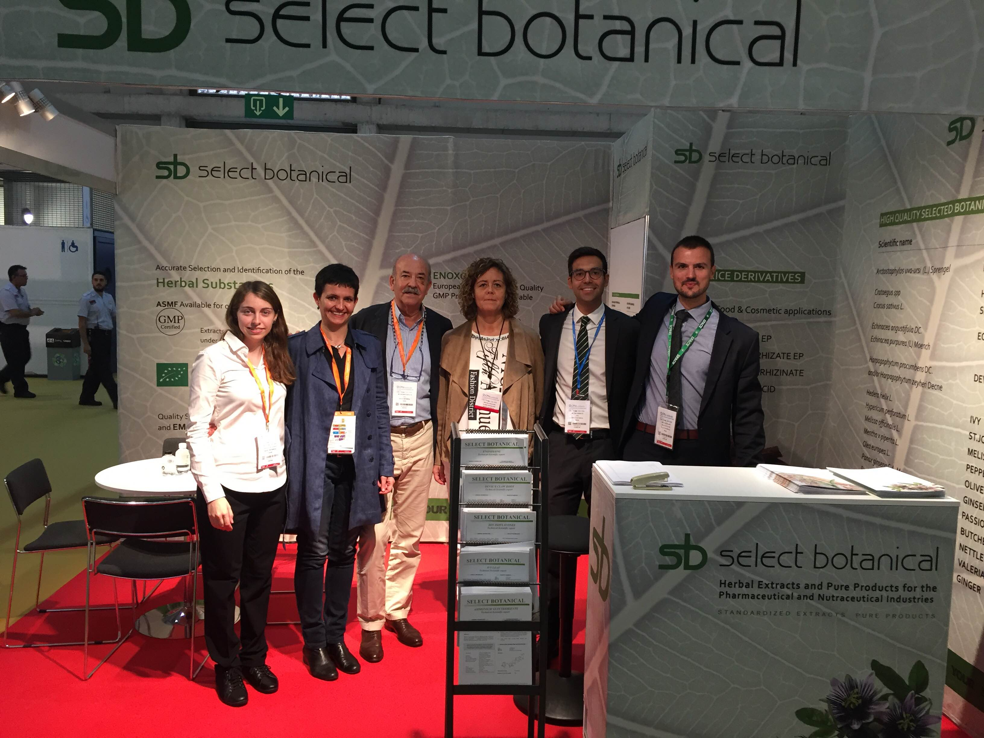We would like to thank all attendees for their warm welcome given to Select Botanical. We were visited by our current clients and potential new customers, who received full information about our products. Thank you all for your visit!