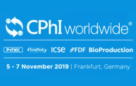 Select Botanical will participate in CPhI Worldwide 2019, Frankfurt (Nov. 5th – 7th, 2019). Come visit our booth #D172, and in order to organize a meeting with one of our representatives please contact sb@selectbotanical.com